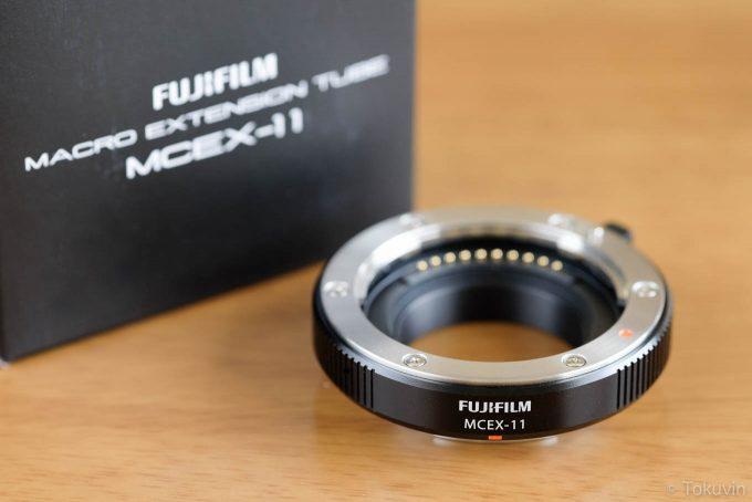 FUJIFILM マクロエクステンションチューブ MCEX-11