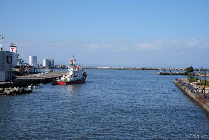 神通川河口付近