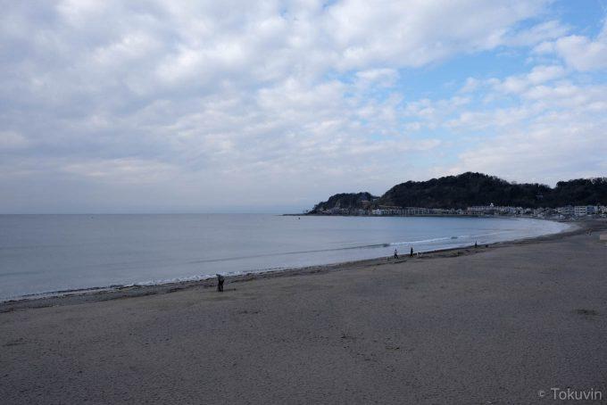 由比ヶ浜海水浴場(X-T1 + XF16mm F1.4R)