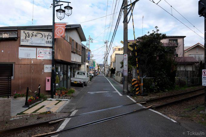 和田塚駅前通り(X-T1 + XF16mm F1.4R)