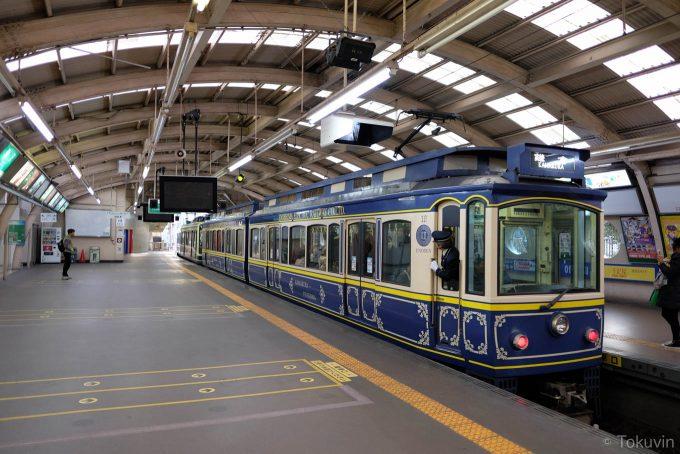 藤沢駅ホーム(X-T1 + XF16mm F1.4R)