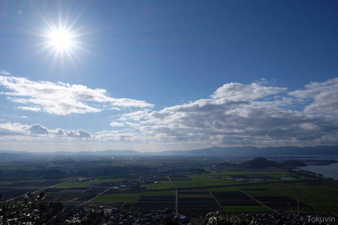 八幡山からの展望