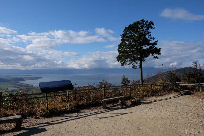琵琶湖方面を望む(X-T1 + XF16mm F1.4R)