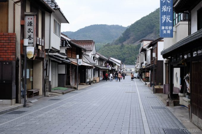 整備された古い町並み