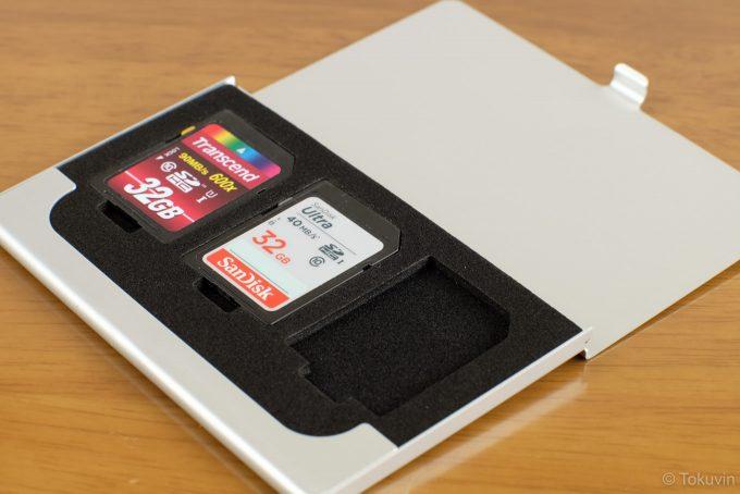 SDカードを収納