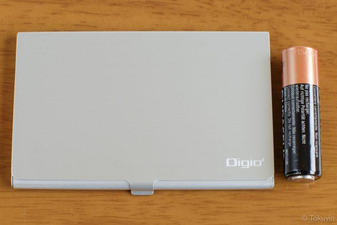 単三電池とのサイズ比較