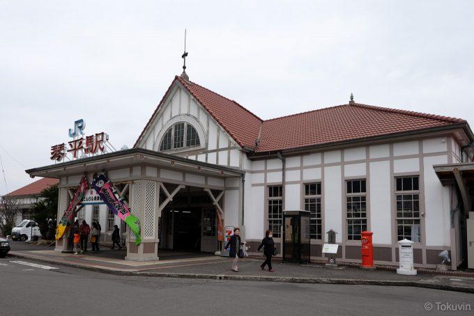 琴平駅舎(X-T1 + XF16mm F1.4R)