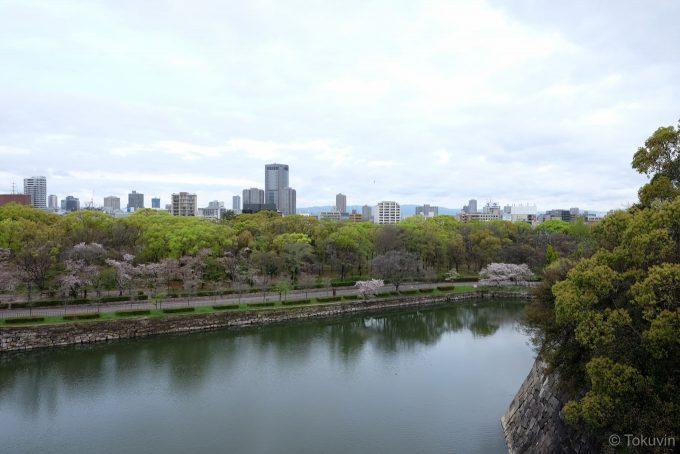 大阪城(X-T1 + XF16mm F1.4R)