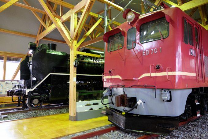長浜鉄道スクエアの展示車両