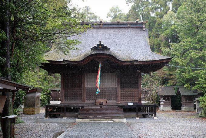 坂田神明宮 拝殿