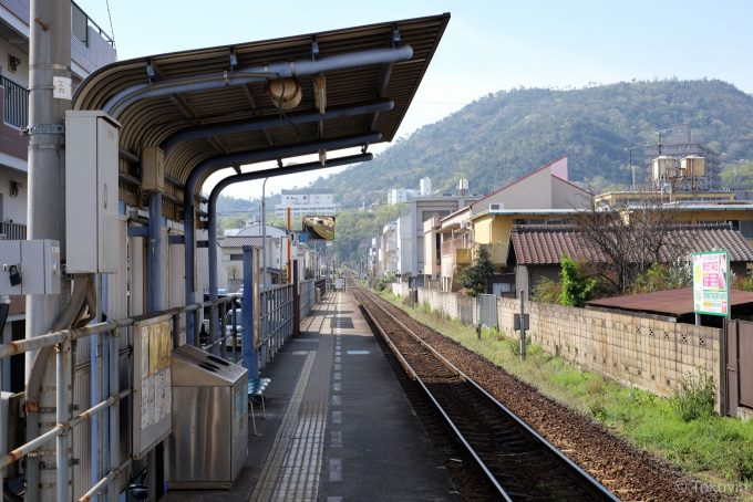 昭和町駅ホーム