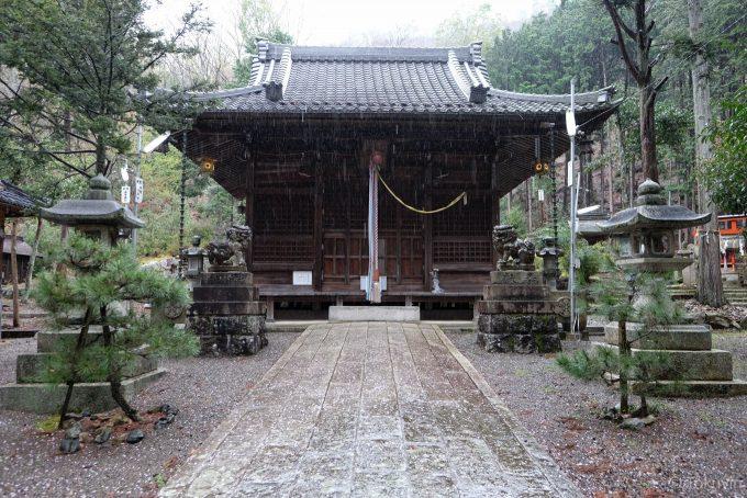 湯谷神社拝殿