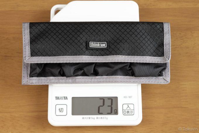 DSLRバッテリーホルダー4 重量