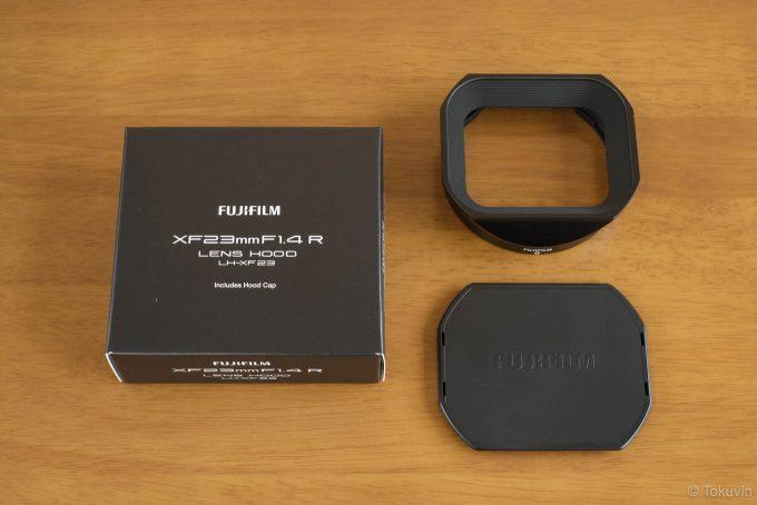 LH-XF23のパッケージ内容