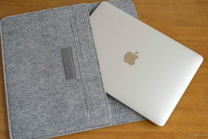 Macbookとインナーケース
