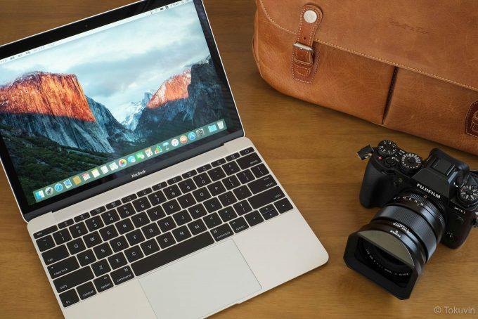 MacbookとX-T1&ボノ