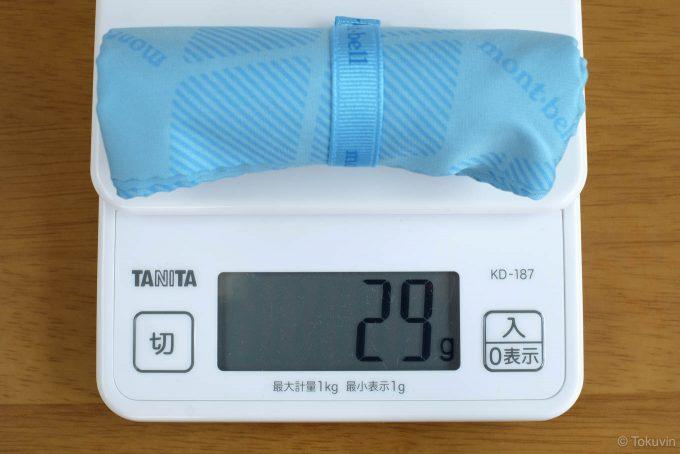重量を計測