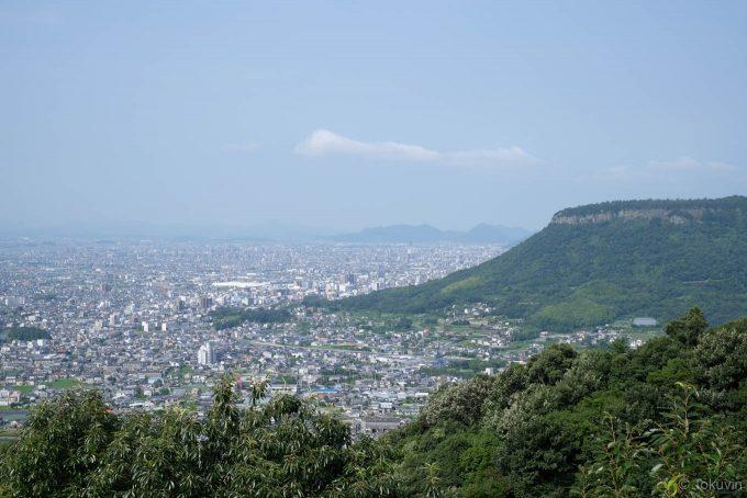 八栗寺からの眺望