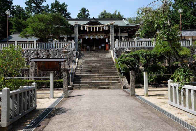 造田八幡宮の本殿