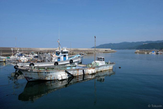 穏やかな相生漁港