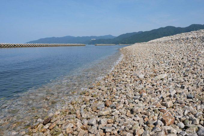 相生の海岸線