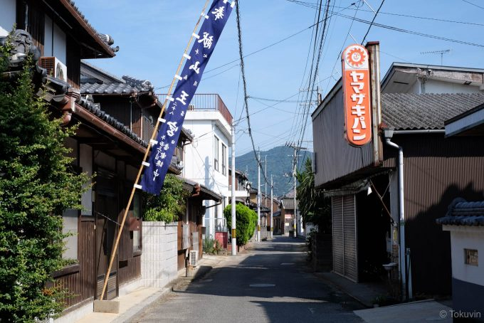 東海寺近くの住宅地