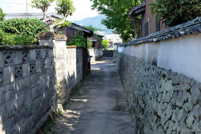東海寺周辺の路地