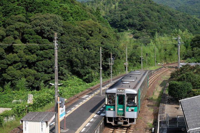 阿波大宮駅に入線する311D