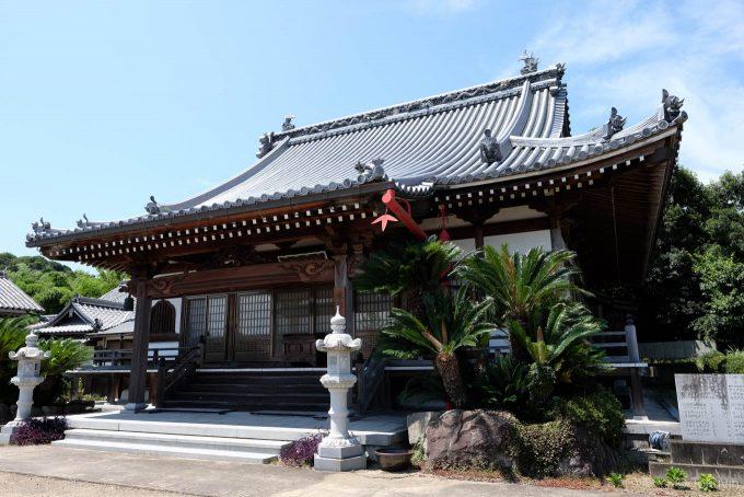 宝幢寺の本堂