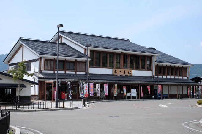 木ノ本駅舎 (X-T1 + XF35mm F1.4R)