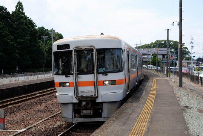 宮川駅に入線する923C
