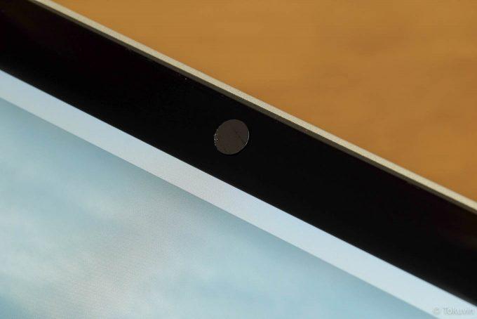 Macbookのカメラに貼った所