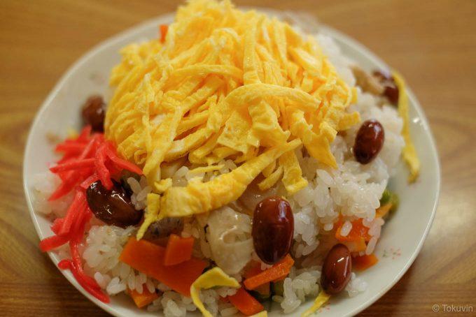 徳島風ちらし寿司
