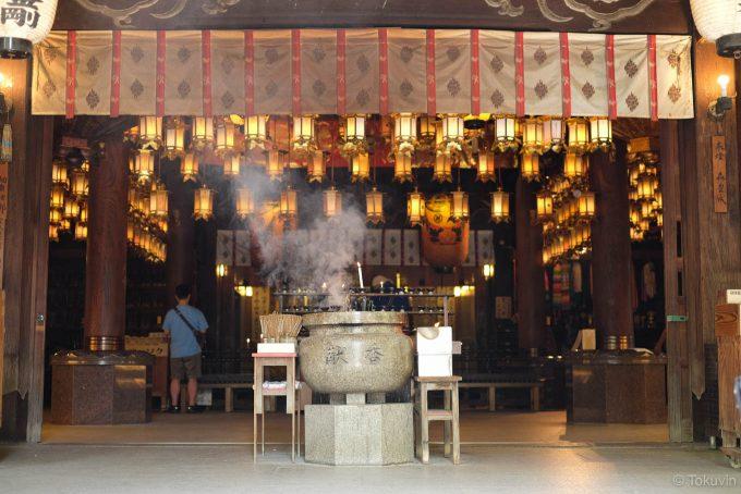 霊山寺の本堂