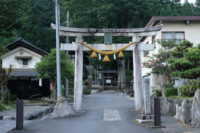 下塩津神社の鳥居