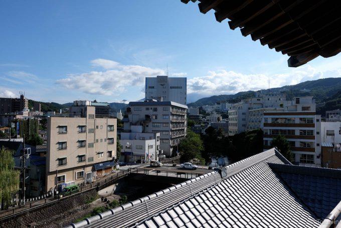 望楼からの眺め