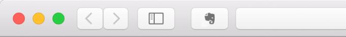 ログアウトマークが消えたWebクリッパーアイコン