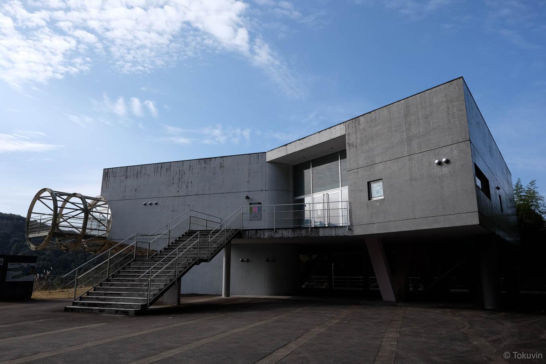 石打ダム資料館。