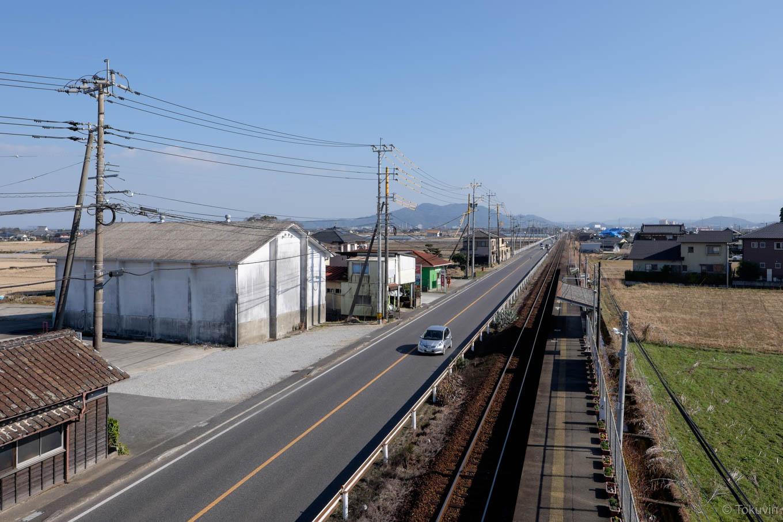 緑川駅ホーム。