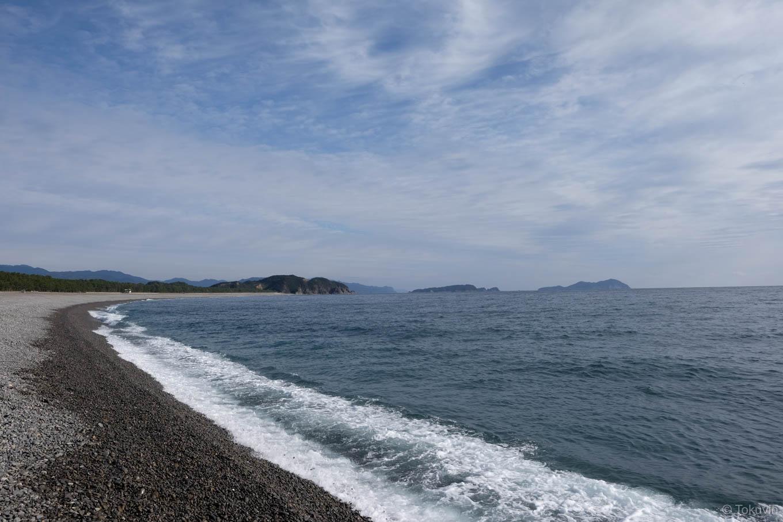 大里松原海岸。