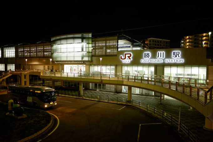 JR勝川駅 (X-T1 + XF16mm F1.4R)