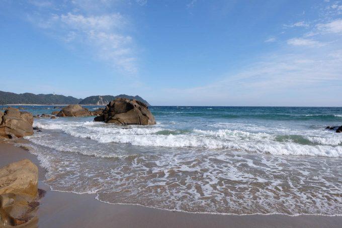 長浜海岸 (X-T1 + XF16mm F1.4R)