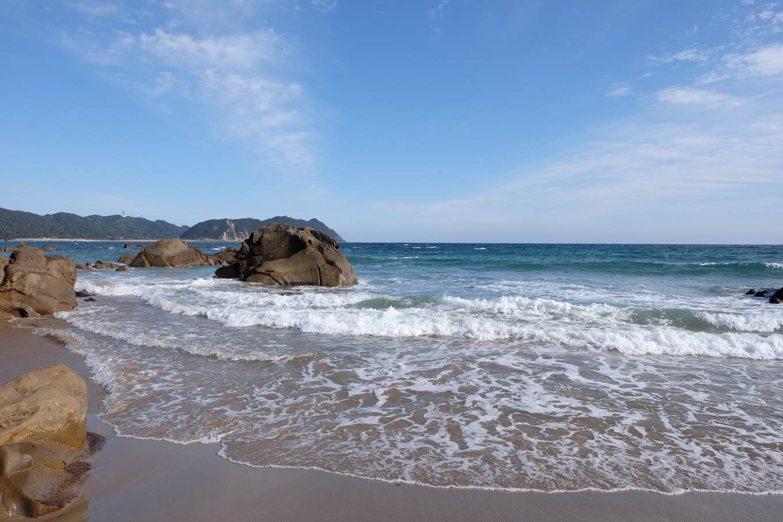 長浜海岸。