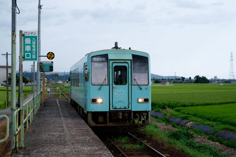 普通列車の越前大野行き 729D。