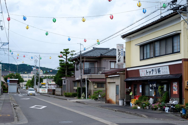 駅前通り。