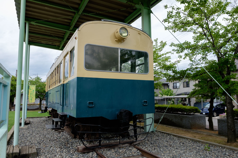 震災電車 モハ122-2号。