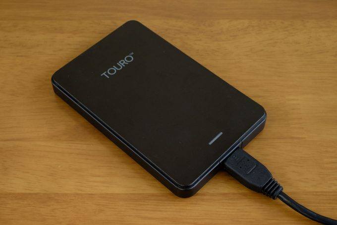 Touro Mobile 1TB 製品外観