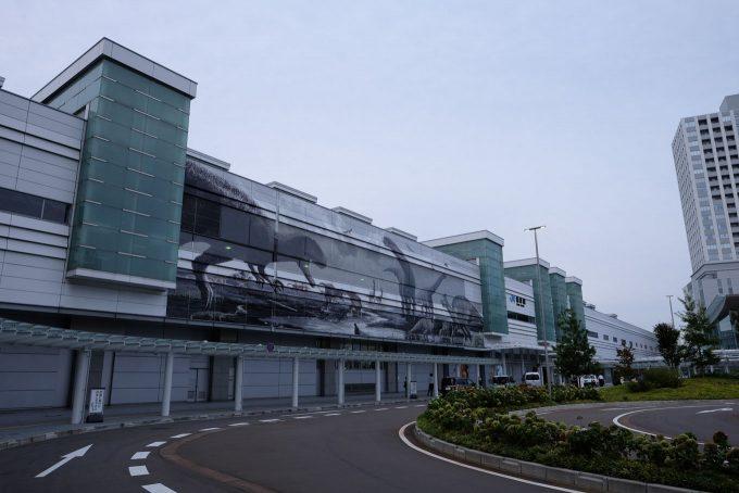 福井駅舎 (FUJIFILM X-T1 + XF16mm F1.4R)