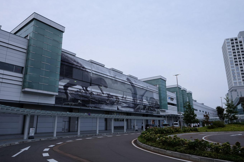 福井駅舎。