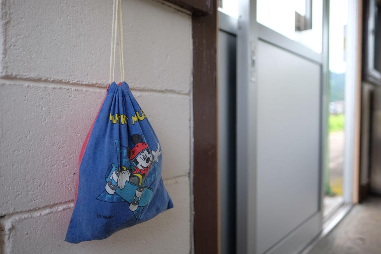 待合所に残された忘れ物。